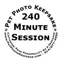 240-minute session - $150.00 includes one pet